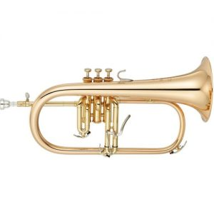 Yamaha YFH-8310ZG Custom Model Bb Flugel Horn Clear Lacquer at Gear 4 Music Image