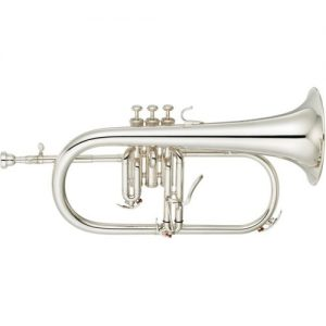 Yamaha YFH8315G Professional Flugel Horn Silver at Gear 4 Music Image