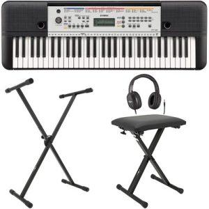 Yamaha YPT 260 61-Key Portable Keyboard Package at Gear 4 Music Image