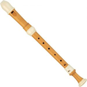 Yamaha YRA811 Alto Recorder Castellowood with Simulated Ivory Rings at Gear 4 Music Image