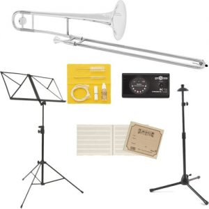 Yamaha YSL354S Student Trombone Beginners Pack at Gear 4 Music Image