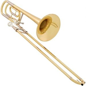 Yamaha YSL640 Professional Bb/F Trombone with Medium-Large Bore at Gear 4 Music Image