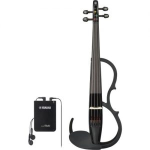 Yamaha YSV104 Silent Violin Black at Gear 4 Music Image