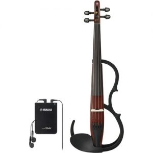 Yamaha YSV104 Silent Violin Brown at Gear 4 Music Image