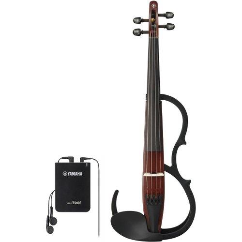 Yamaha YSV104 Silent Violin Brown at Gear 4 Music Image