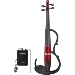Yamaha YSV104 Silent Violin Wine Red at Gear 4 Music Image