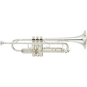 Yamaha YTR-6345GS Large Bore Bb Trumpet Silver Plated at Gear 4 Music Image