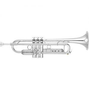 Yamaha YTR8335G Xeno Trumpet Silver Plate Reverse Leadpipe at Gear 4 Music Image