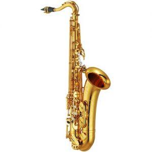 Yamaha YTS82Z Custom Z Tenor Saxophone Gold at Gear 4 Music Image