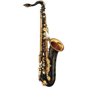 Yamaha YTS875EX Custom Tenor Saxophone Black Lacquer at Gear 4 Music Image