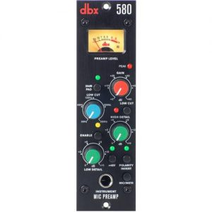 dbx 580 Microphone Preamp at Gear 4 Music Image