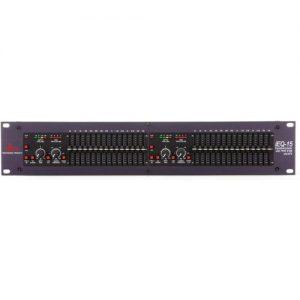 dbx iEQ15 Intelligent Dual 15-Band Digital Graphic EQ at Gear 4 Music Image