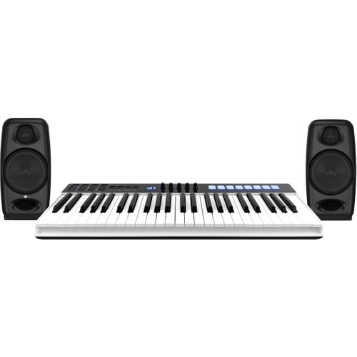iRig Keys I/O 49 with iLoud Micro Monitors at Gear 4 Music Image
