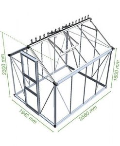 Burford Installation 6 x 8 Greenhouse