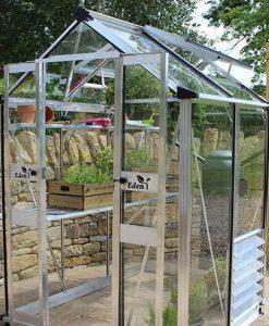 Eden Birdlip 44 Mill Greenhouse-Horticultural Glass