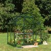 Halls Popular 64 (Green) Greenhouse-Toughened Glass