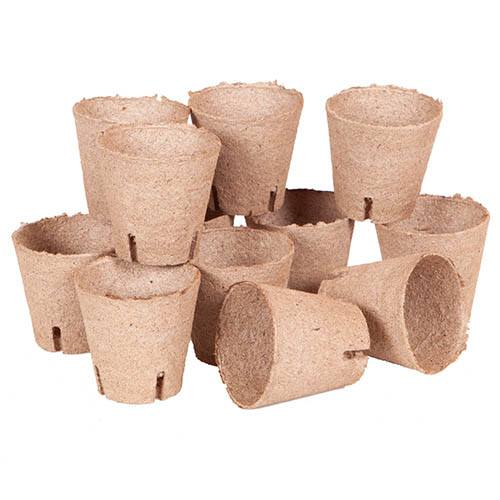 Jiffy Bio Pot Refills 36 x 8cm pots YouGarden