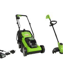 24V 33cm Lawn Mower +FREE 24vLine Trimmer