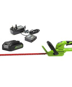 24V Hedge Trimmer with Battery & Charger