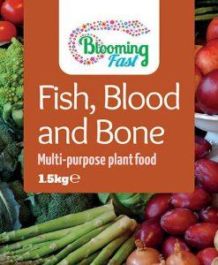 Blooming Fast Fish Blood & Bone 1.5Kg tub
