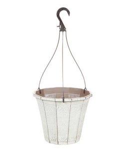 Calista Hanging Basket 25cm (10in) Vintage Rust