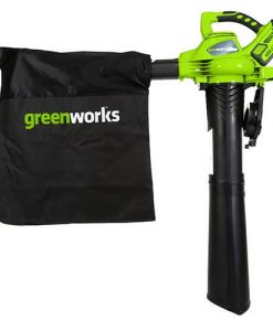 Greenworks 40v Brushless Blower and Vacuum with 2 x 2Ah Batteries and Charger