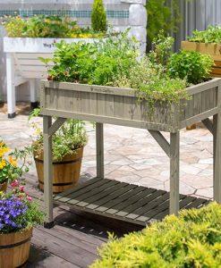 Herb Garden - Grey Wash