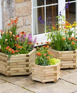 Marford Hexagonal Planter Collection