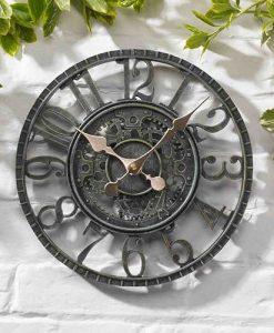 Newby Mechanical Clock - Verdigris 12