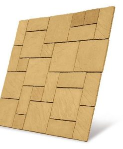 S2D Cathedral Paving Kit 5.76m2 Barley