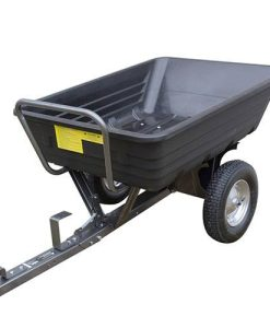 The Handy 650lb Poly Body Towed Dump Cart